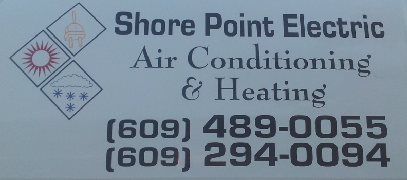 Shore Point Electric Vans Have Our Logo Servicing LBI